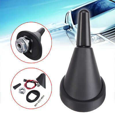 $15.99 • Buy Car Universal Short Rod Roof Antenna+Base With Amplifier+Adapters
