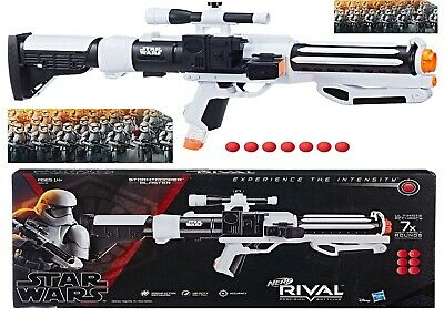 AU349 • Buy Nerf Rival Star Wars First Order Stormtrooper Blaster Ages 14+ Toy Gun Fire Play