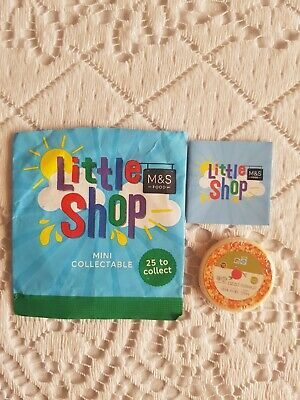 Ms Little Shop Mark N Spencer Mini Food Collectable- Not With Card Pizza • 1.50£