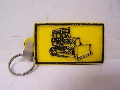 $14.99 • Buy Vintage CAT KEYCHAIN Key Chain Caterpillar BULLDOZER HEAVY EQ GILES & RANSOME PA