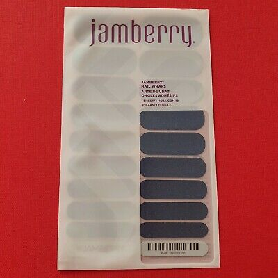 AU5.99 • Buy Jamberry Nail Wraps - Full, Unused Sheets - Sapphire
