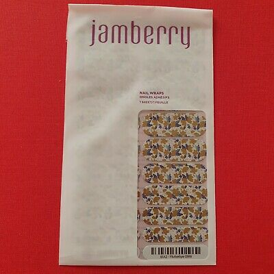 AU5.99 • Buy Jamberry Nail Wraps - Full, Unused Sheets - Flutterbye