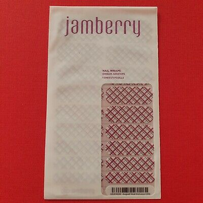 AU5.99 • Buy Jamberry Nail Wraps - Full, Unused Sheets - August Host Exclusive