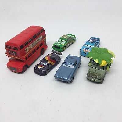 $ CDN28.70 • Buy DISNEY PIXAR CARS Lot Of 6- Double Decker Bus #86 #42 Wild Miles Axlerod