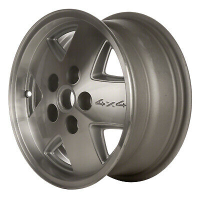 $143.40 • Buy 01320 Refinished Chevrolet S10 Truck 4x4 1983-1993 15in  Wheel Machined W/Silver