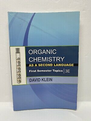 $29.98 • Buy First Semester Topics: Organic Chemistry As A Second Language :3E