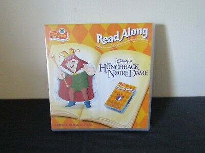 Disney Read Along The Hunchback Of Notre Dame 24 Page Book & Cassette Tape. • 5.50£