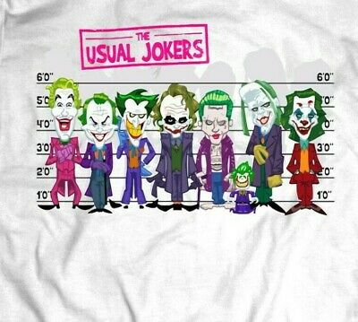 £12.05 • Buy Comic Book Style The Usual Jokers Oldskool Shirt* Many Options
