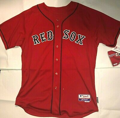 $49.99 • Buy New Boston Red Sox Authentic Majestic Alternate Jersey Great Fathers Day Gift