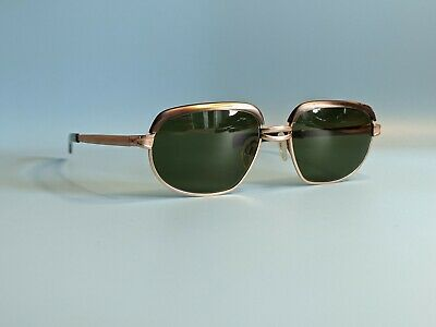 Vintage Rodenstock Clarina 12k Gold Filled Oval Sunglasses Made In Germany  • 60£
