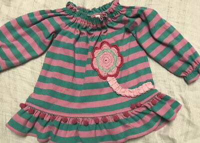 $12 • Buy Zuccini Girls 12 Month Dress, Spring, Summer Pom Pom, Boutique, Adorable!! $65!!