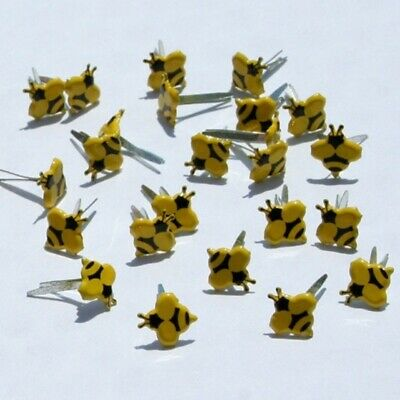 $2.25 • Buy Mini Bee Brads *  Eyelet Outlet  8 Pcs    New Just In Stock
