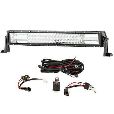 AU73.95 • Buy Adventure Kings Domin8r 22  Deluxe LED Driving Light Bar + Wiring Harness IP68