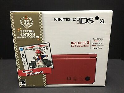 $399 • Buy Nintendo DSi XL Special Edition Super Mario Bros 25th Anniversary Console NEW