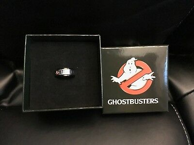 $19.33 • Buy Ghostbusters No Ghosts Spinner Collectible Ring Size 10 Medium