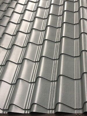 Tile Effect Roofing Plastisol Coated *PVC* Barn Roof,shed Roof ,summerhouse Roof • 2.50£