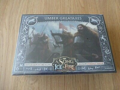 Stark Umber Great Axes A Song Of Ice And Fire CMON Baratheon Bottle Opener  • 30£
