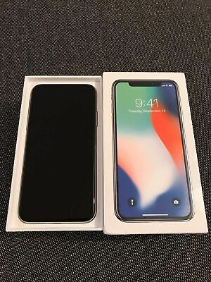 AU255 • Buy Apple IPhone X - 64GB - Silver (Unlocked) Excellent Condition.
