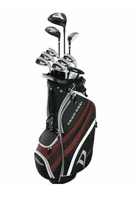AU480 • Buy Wilson Deep Red Tour Package Brand New Golf Clubs & Bag, Right Handed