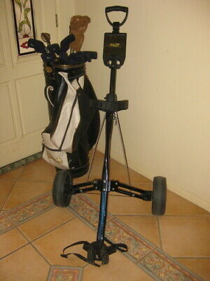 AU250 • Buy Dynacast (made In Australia) Golf Clubs, Bag & Buggy