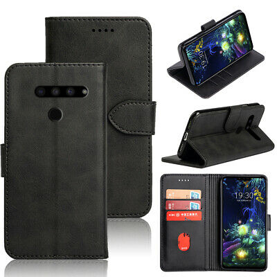AU9.99 • Buy For LG V50 ThinQ Wallet Card Pocket PU Leather Foli Case Cover For LG V50 Thin Q