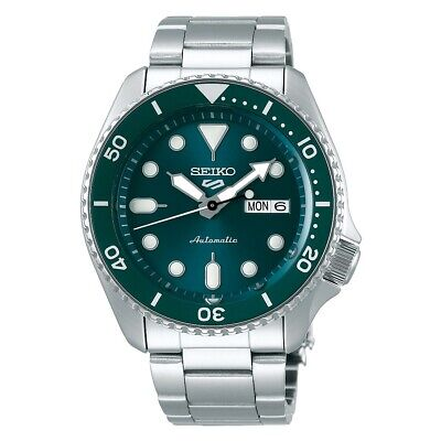 $ CDN387.02 • Buy Seiko 5 Sports Full SS Green Dial And Bezel 42.5mm Automatic Watch SRPD61K1