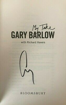 Gary Barlow  (Take That / My Take)   **HAND SIGNED**   HB Book  ~  AUTOGRAPHED • 49.99£