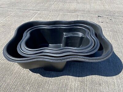 FinTail Preformed HDPE Heavy Duty Fish Pond Plastic Moulded Liner 150L 250L 500L • 89.99£