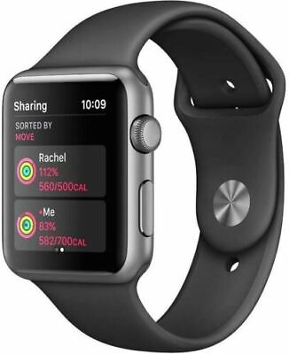 $ CDN228.72 • Buy Apple Watch Series 1 - 42mm Case Space Gray & Black Sport Band (Comes With Box)