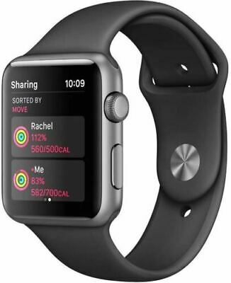 $ CDN279.68 • Buy Apple Watch Series 1 38mm - Gray Aluminum Case - Black Band - Brand New
