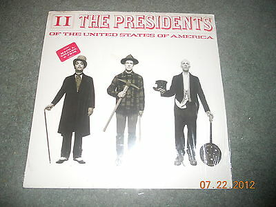 Presidents Of The United States Of America - II LP Vinyl NEW Sealed RARE Record  • 146.24£