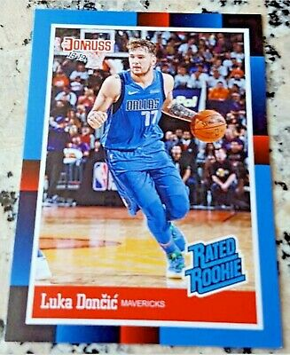 $249.99 • Buy LUKA DONCIC 2018 Donruss #1 Draft Pick RATED Rookie Card RC SP 1988 Mavs $ HOT $