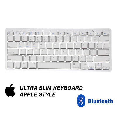 New Slim Wireless Bluetooth Keyboard For Imac Ipad Android Phone Tablet Pc Uk • 10.25£