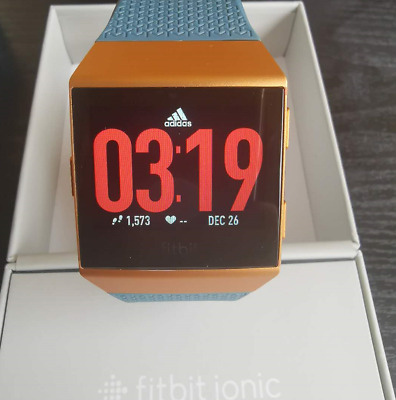 $ CDN195.96 • Buy New Fitbit Ionic Smartwatch Ad Special Edition GPS Gold Color Sealed Box
