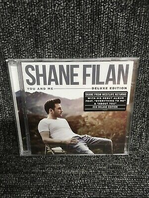 Shane Filan -westlife - You And Me - New Sealed Deluxe Edition 2 X Cd . Freepost • 9.99£