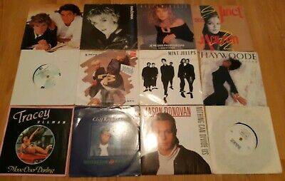 Job Lotof 7  Vinyl Singles From The 80s + 90s -100 In Total Collection Only. • 20£