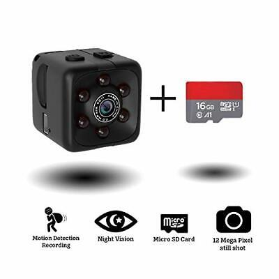 $33.81 • Buy Mini Hidden Spy Camera Portable Small 1080P Wireless Cam With Night Vision An...