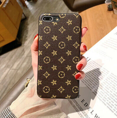 AU8.99 • Buy IPhone 12/11 Pro XS XR Max SE 6 7 8 S Plus Flower Leather Slim Back Case Cover