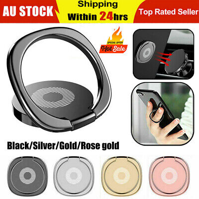 AU6.99 • Buy Metal Phone Smart Ring Holder Grip Socket Stand Dock Magnetic Mount Pop Bracket