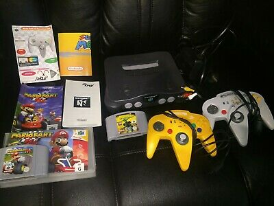 AU210 • Buy N64 Console Aus Pal Nintendo 64 With Two Controllers And Games ( AUSSIE SELLER)