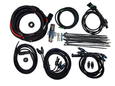AU206.32 • Buy Motorcycle Saddlebag 4 Channel Amplifier Wiring Kit With RCA Cables. Harley
