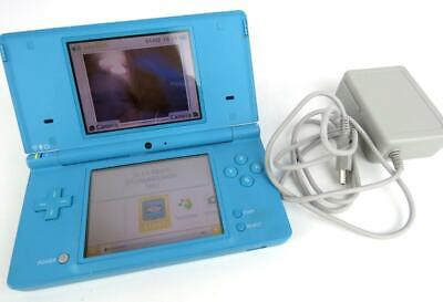 $60 • Buy Nintendo DSi XL Blue Handheld Console 2 Stylus Plug And R4 Game Included Works