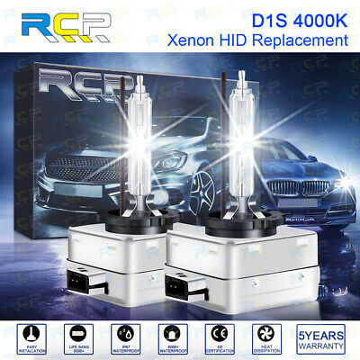 AU38.95 • Buy 2 X D1S D1R D1C 35W 4300K Xenon HID Headlight Bulbs Replace Light Lamps Yellow