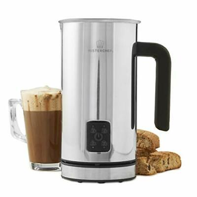 £29.99 • Buy MisterChef® Large Electric Coffee Frother & Milk Warmer Whisk Aerolatte Jug