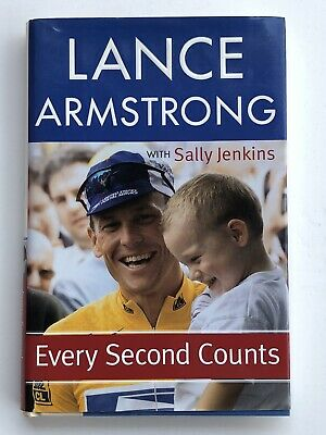 Lance Armstrong Signed Autographed Every Second Counts Hardcover Book PSA/DNA  • 68.74£
