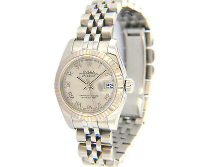 $ CDN5973.88 • Buy 2005 Ladies Rolex Datejust 179174, Steel, White Gold, W/ Box & Papers
