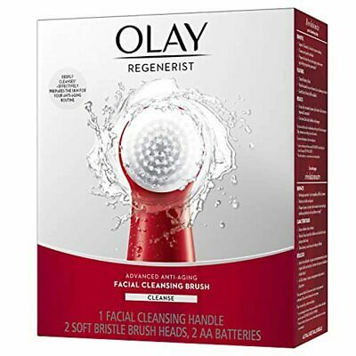 AU42.05 • Buy Facial Cleansing Brush By Olay Regenerist, Face Exfoliator With 2 Brush Heads