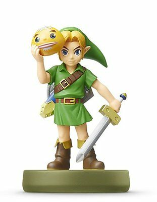 AU39.45 • Buy NEW Nintendo 3DS Amiibo Link Majora's Mask The Legend Of Zelda JAPAN OFFICIAL