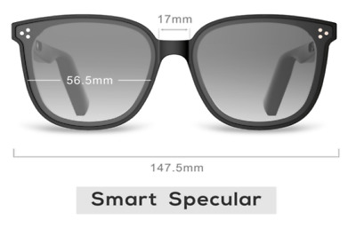 AU91.29 • Buy Bluetooth Sunglasses Headphone Wireless Stereo Music Sunshade Glasses Headset