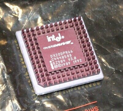 AU60 • Buy Intel Overdrive 486DX2-66MHz Vintage CPU DX2ODP66 SZ904